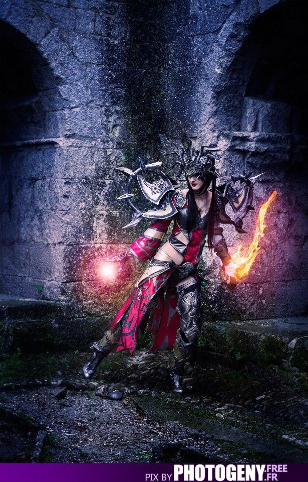 Wizard's Fight by SakuraFlamme