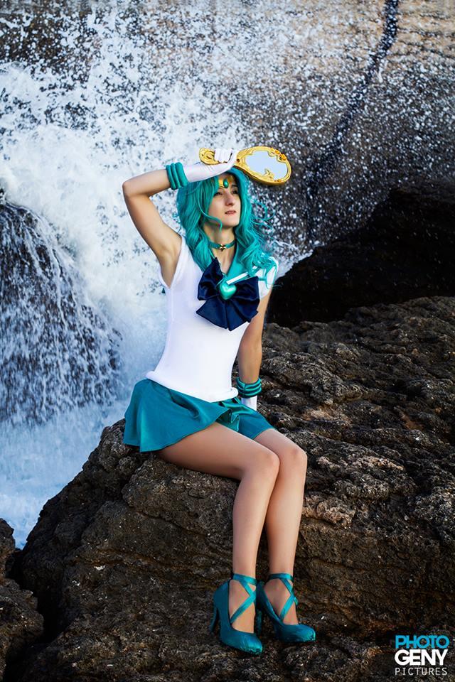 Sailor Neptune by SakuraFlamme