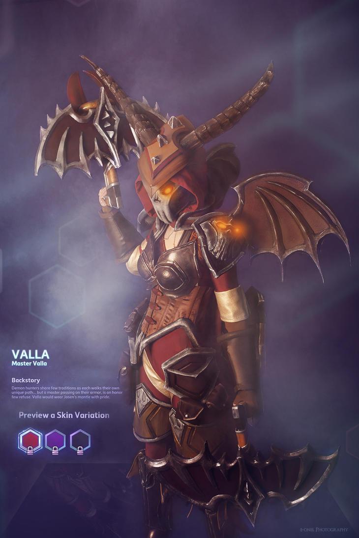 Valla from HOTS BLIZZARD by SakuraFlamme