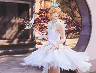 Sakura Clear Arc cosplay (opening version)