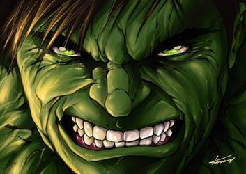 Incredibale Hulk by KareemSanshiro