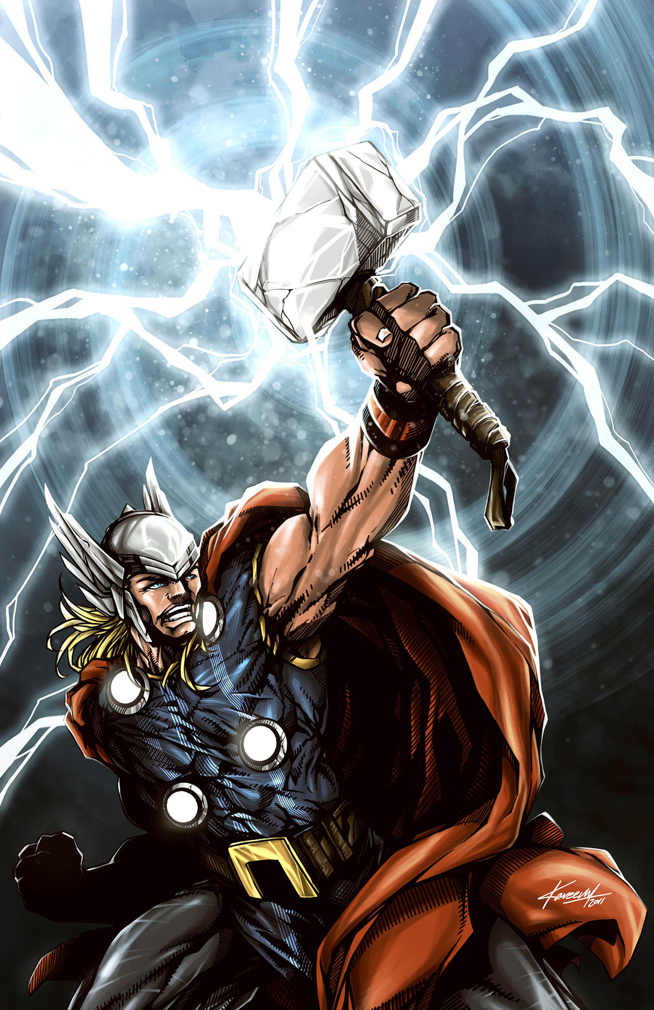 thor god of thunder by avalonfilth on deviantart