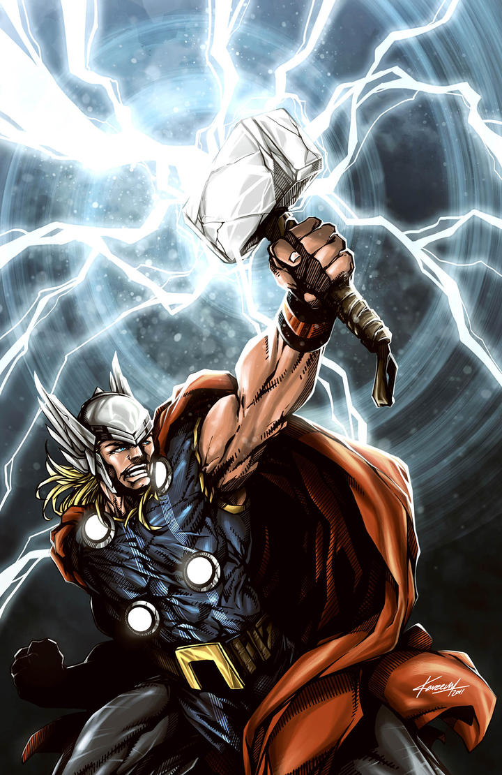 Image Result For Marvel Thor Coloring