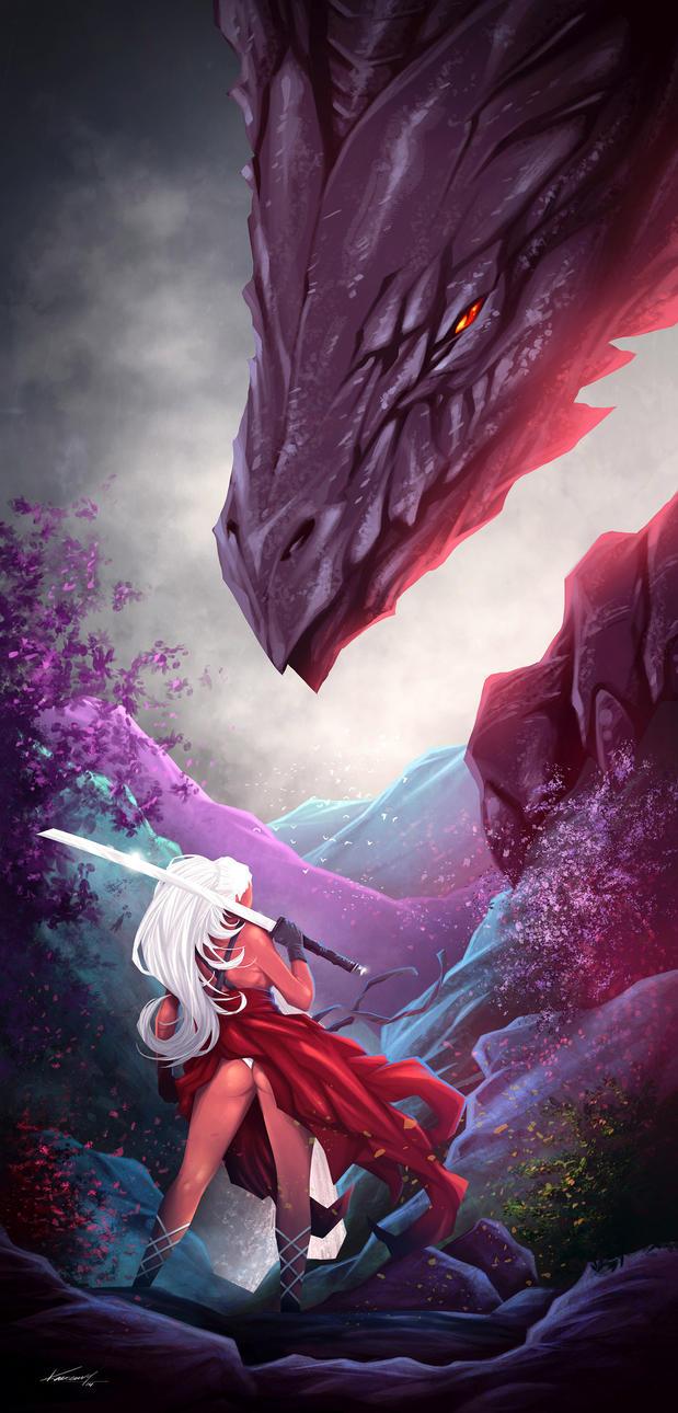 Dragon-Princess by avalonfilth