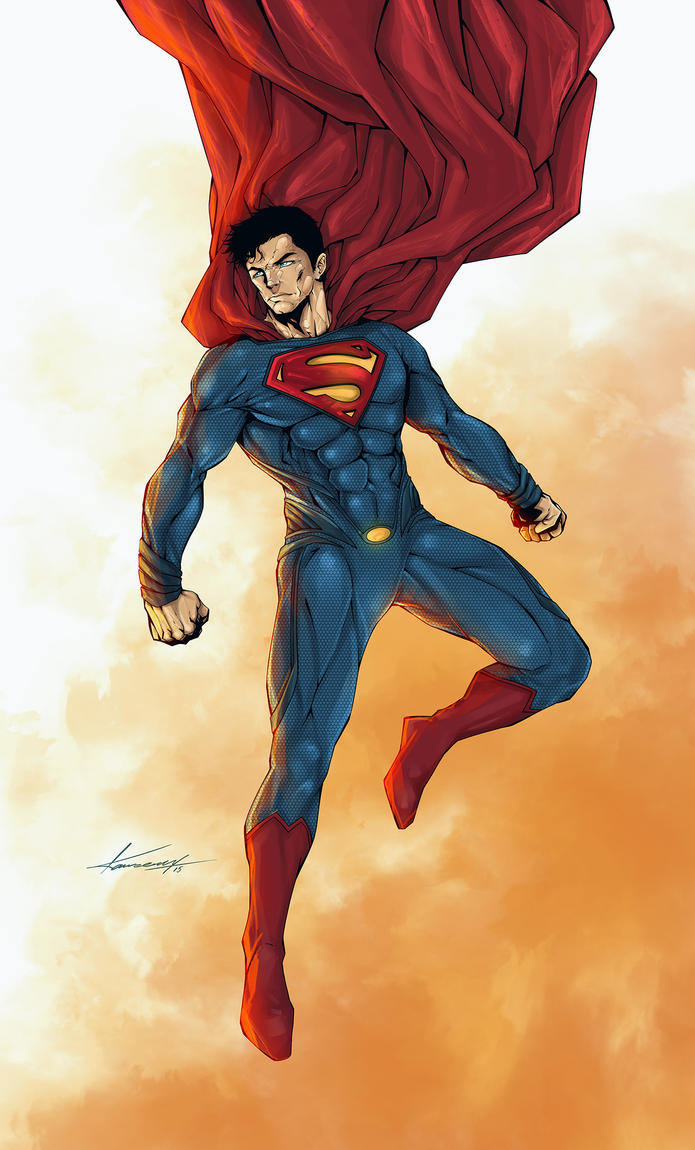 Man-of-steel by avalonfilth