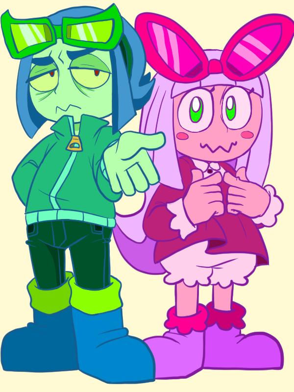 Bug and Bow by QuackingMoron