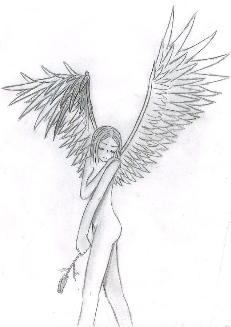 broken wing broken heart by charismaladyn on deviantart