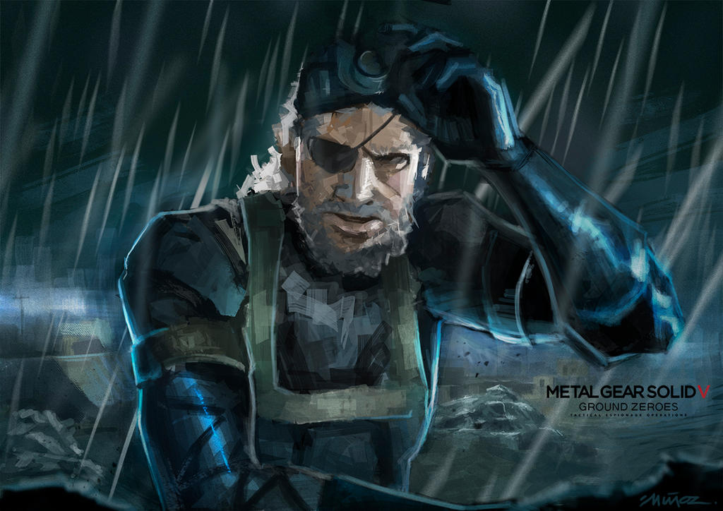 Metal Gear Solid Artwork: Metal Gear Solid V By DigSek On DeviantArt