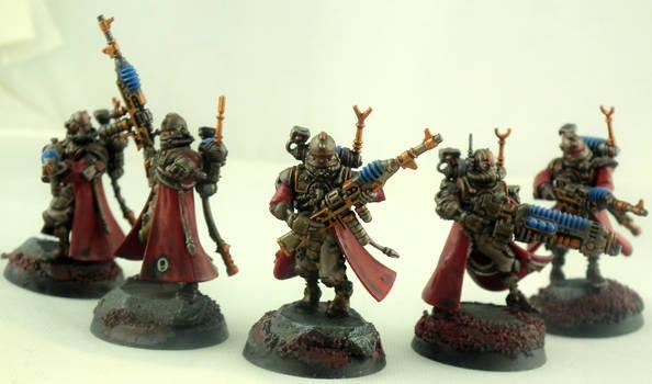Skitarii Vanguard squad