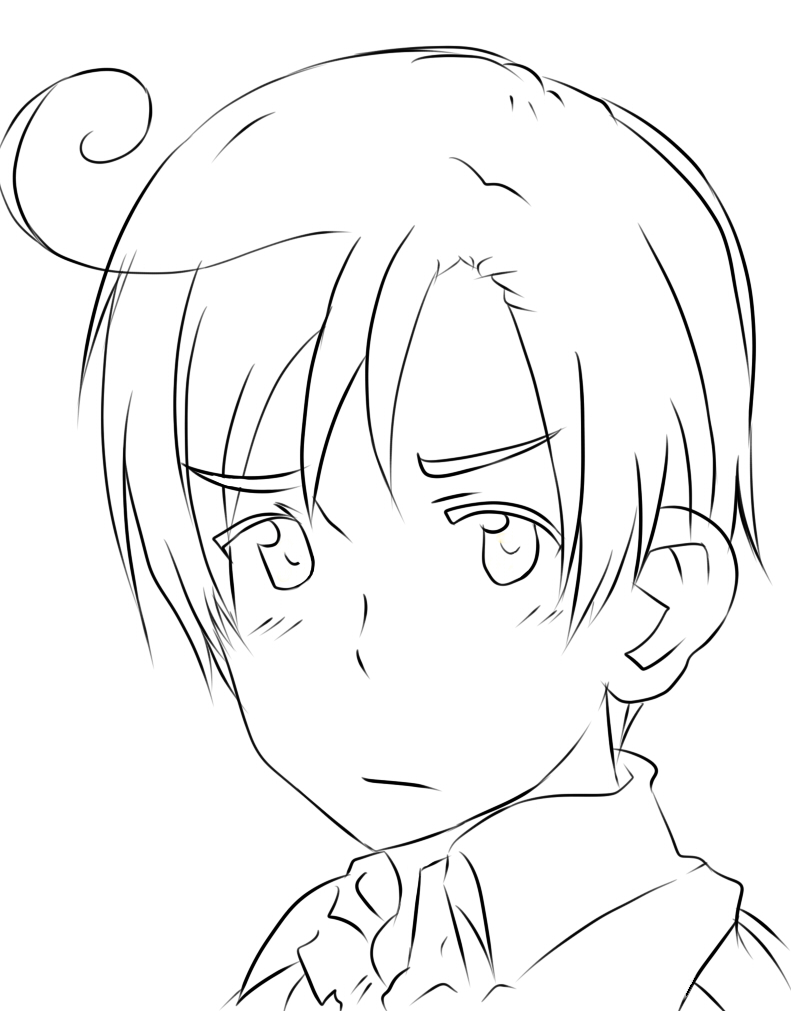 anime hetalia coloring pages - photo#25