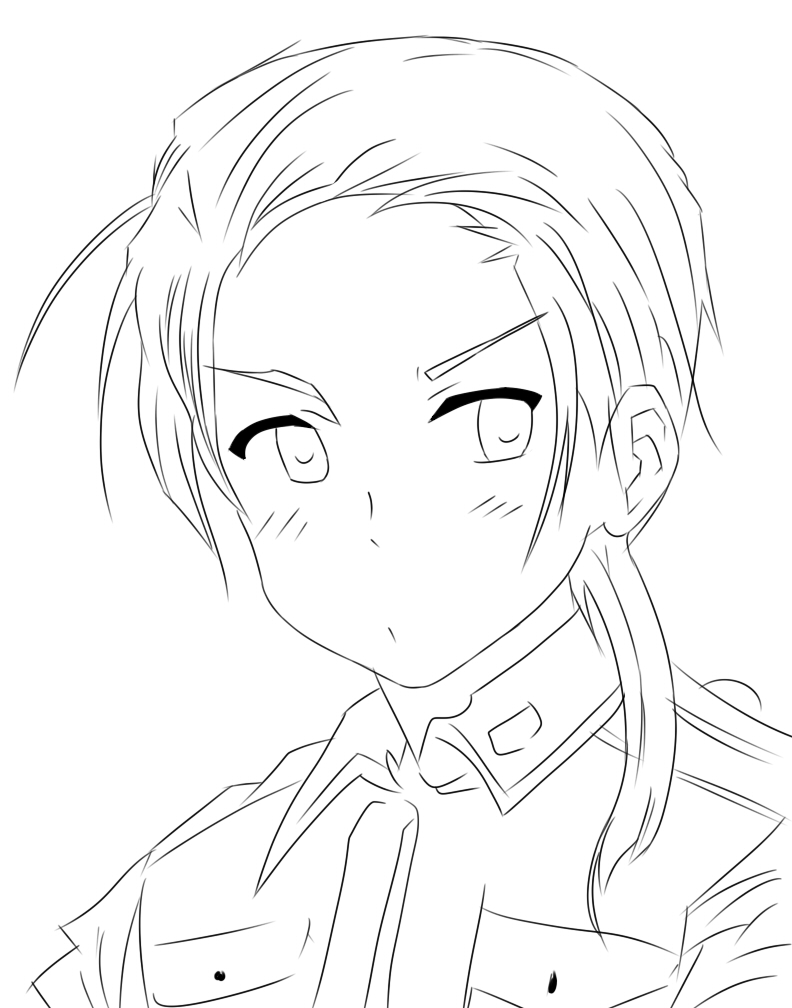 anime hetalia coloring pages - photo#48