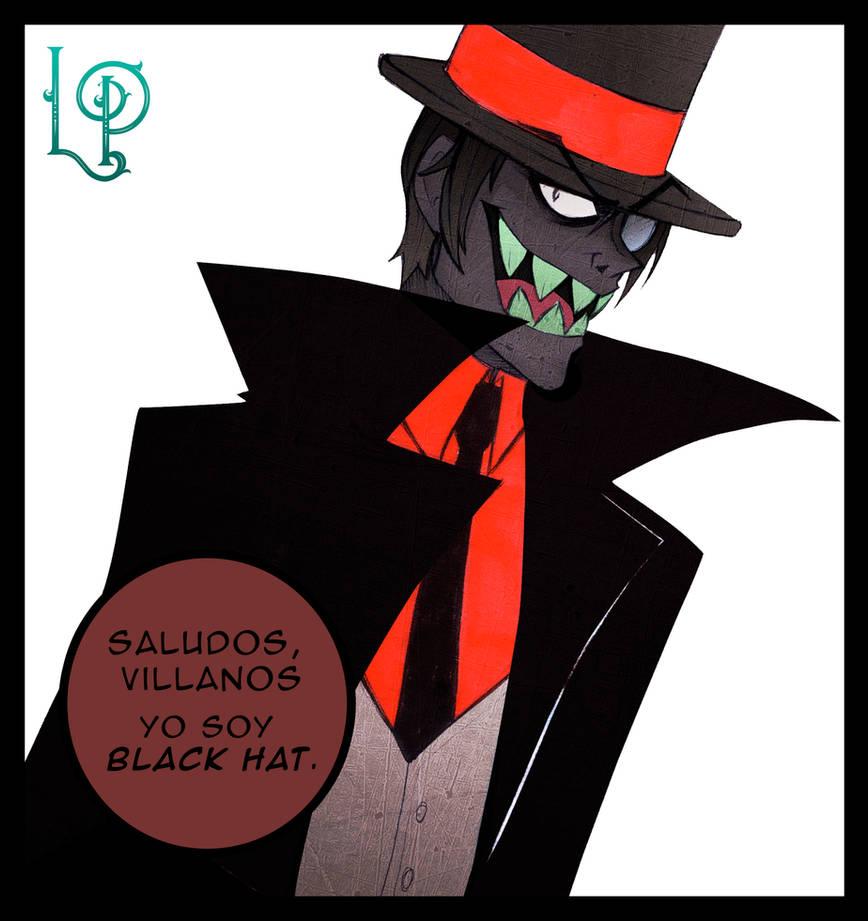 Black Hat Villainous Villanos By Mortymoon On Deviantart