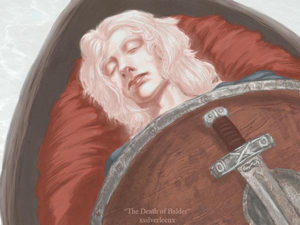 Death of Balder by XsilverleenX