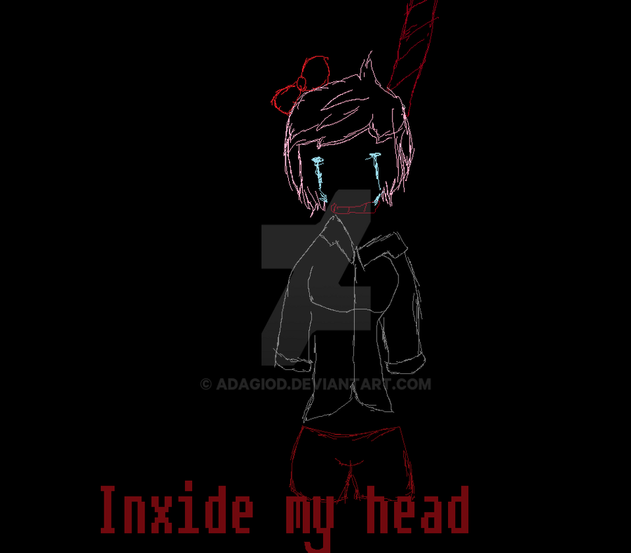 Sayori Hanged by Adagiod