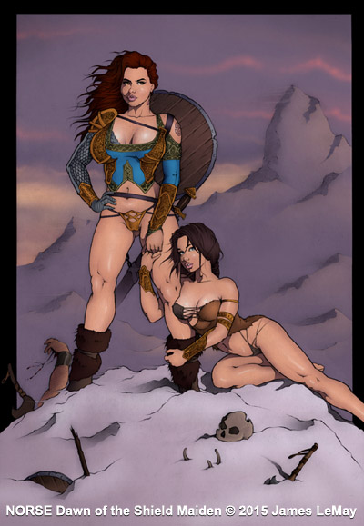 NORSE: The Gordon Sisters by James-LeMay-Graphix