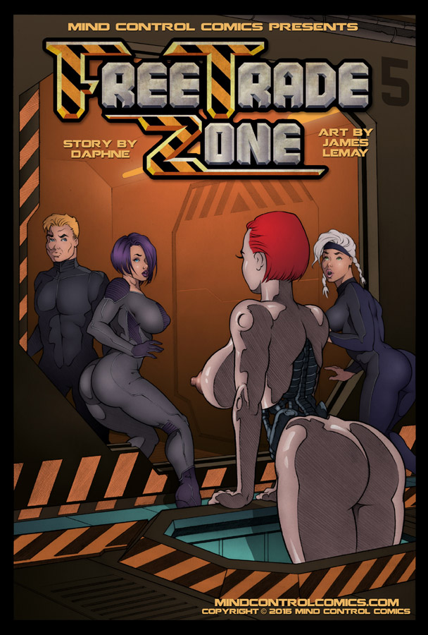 Free Trade Zone 5 Cover by James-LeMay-Graphix
