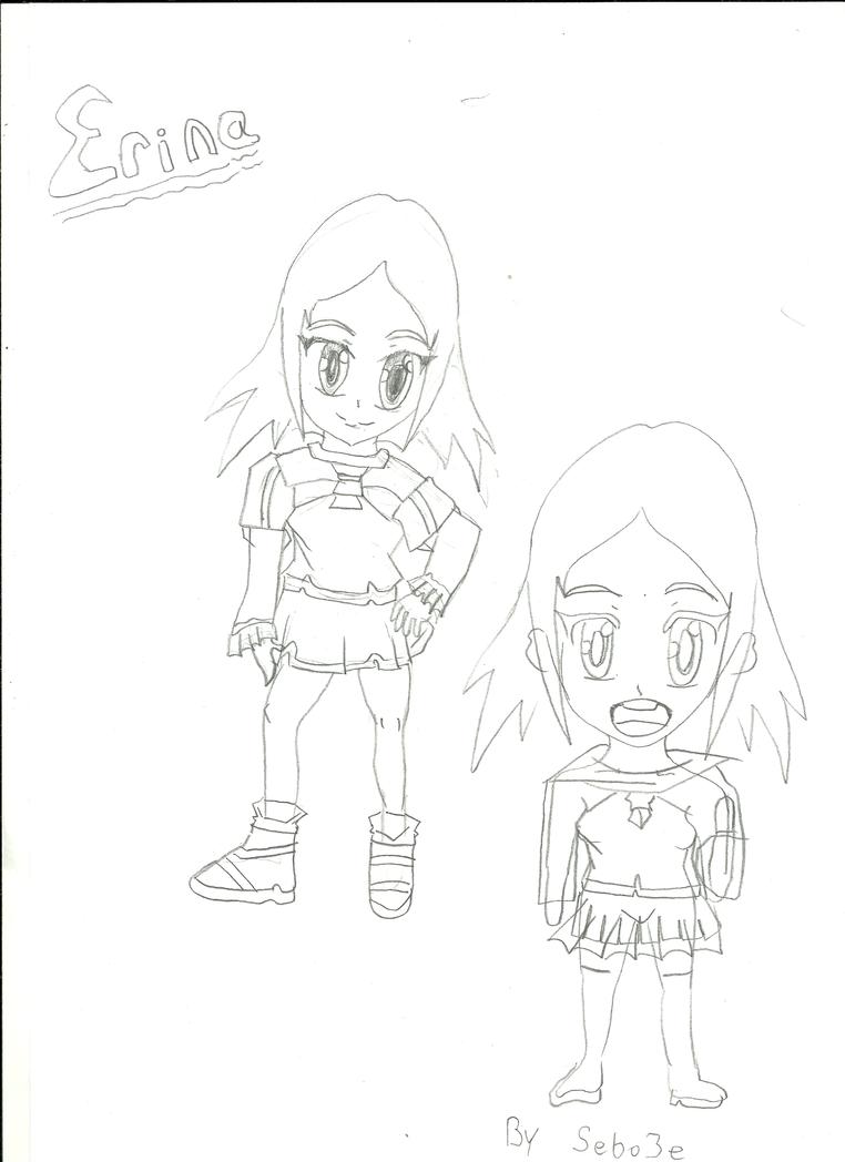 My new character erina by sebo3e