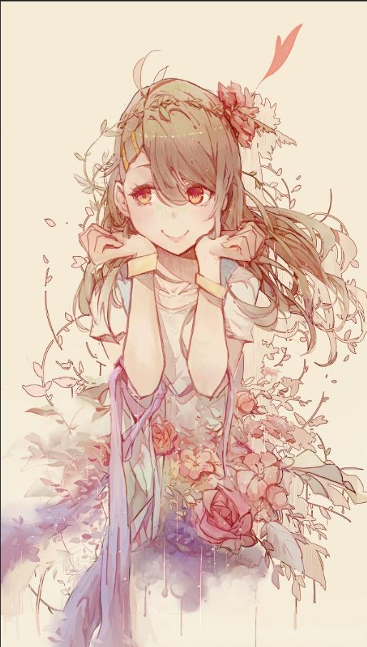 Flower dream by Kuroduki