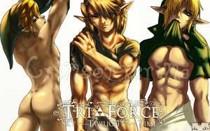The Trif- LinkForce xD by CrimsonxCrime