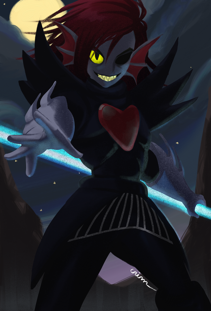 Undyne The Undying - Undertale | Gift for Cami by CrimsonxCrime