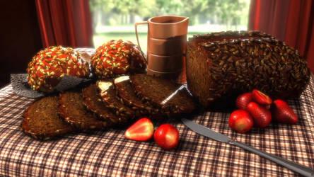 my breakfast tomorrow by PunNyjunior