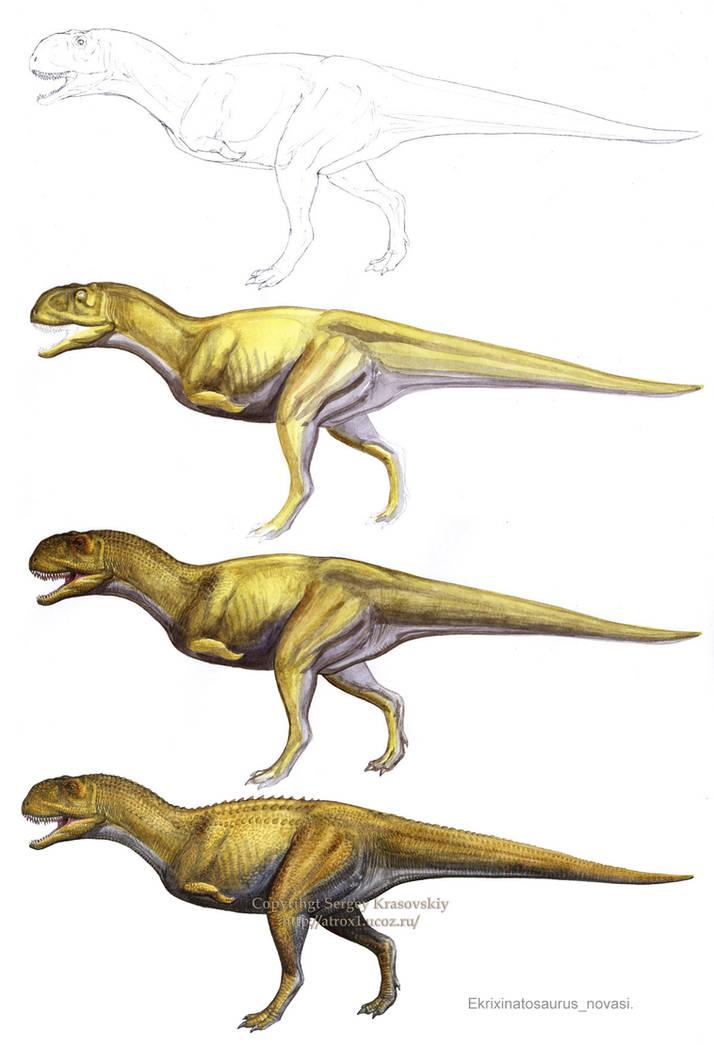 Ekrixinatosaurus novasi by atrox1