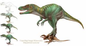 marshosaurus WIP by atrox1