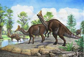 Amurosaurus by atrox1