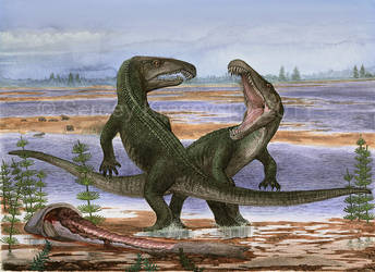 Archosaurus rossicus by atrox1