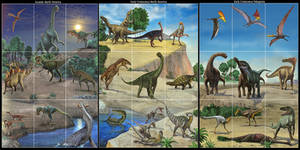 Card dinosaurs by atrox1