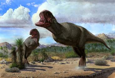 Pycnonemosaurus nevesi by atrox1
