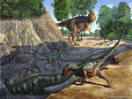 Tenontosaurus vs Deinonychus