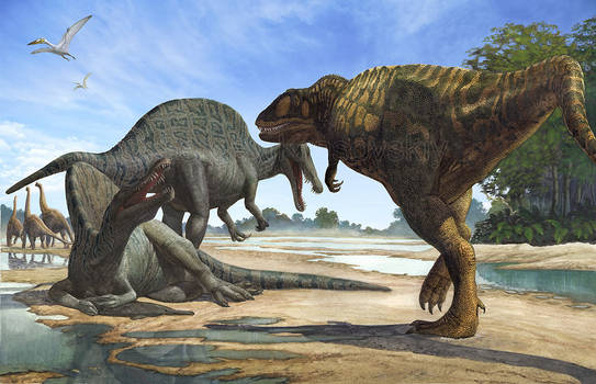Spinosaurs (The passage is denied)