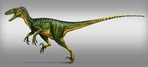deinonychus (retro) by atrox1