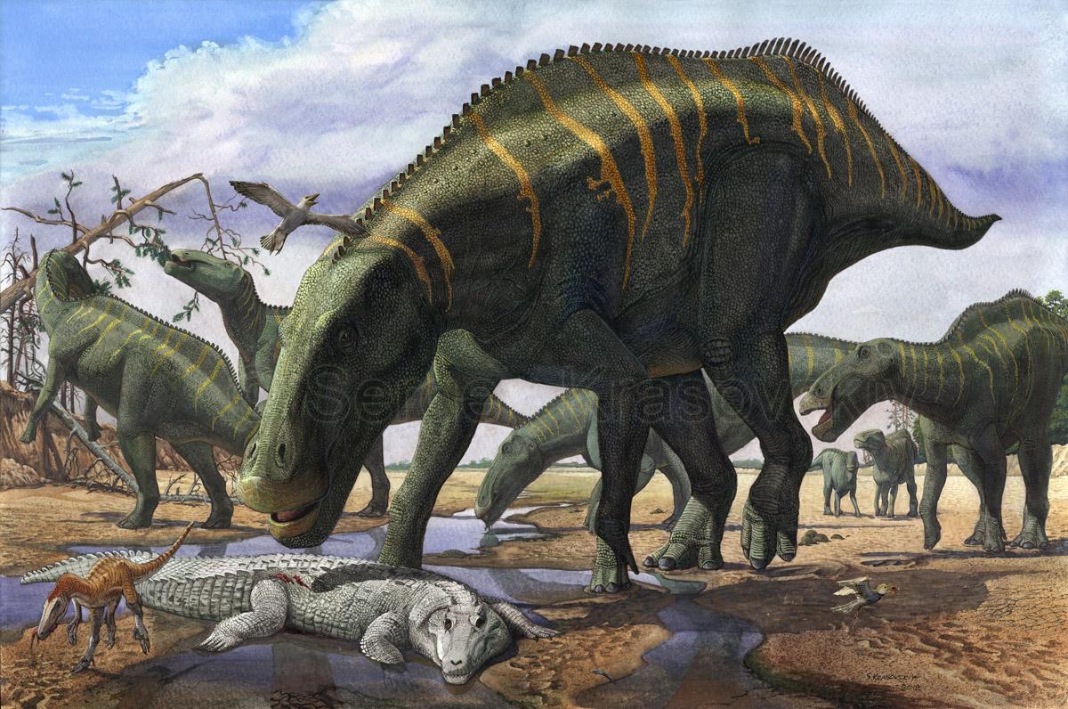 Shantungosaurus by atrox1 on DeviantArt