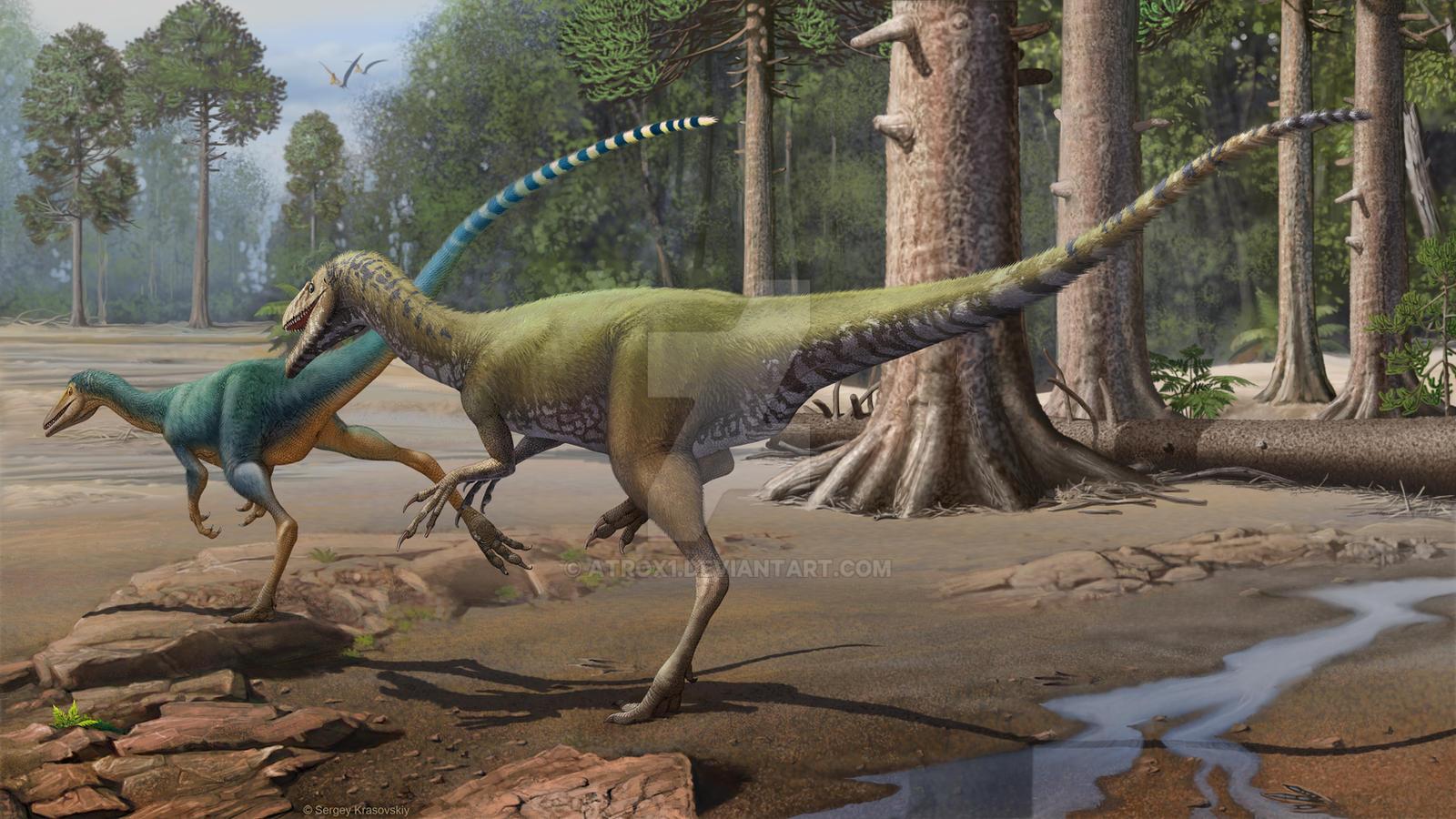 Santanaraptor by atrox1