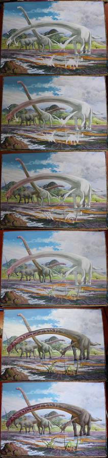 Mamenchisaurus WIP 2