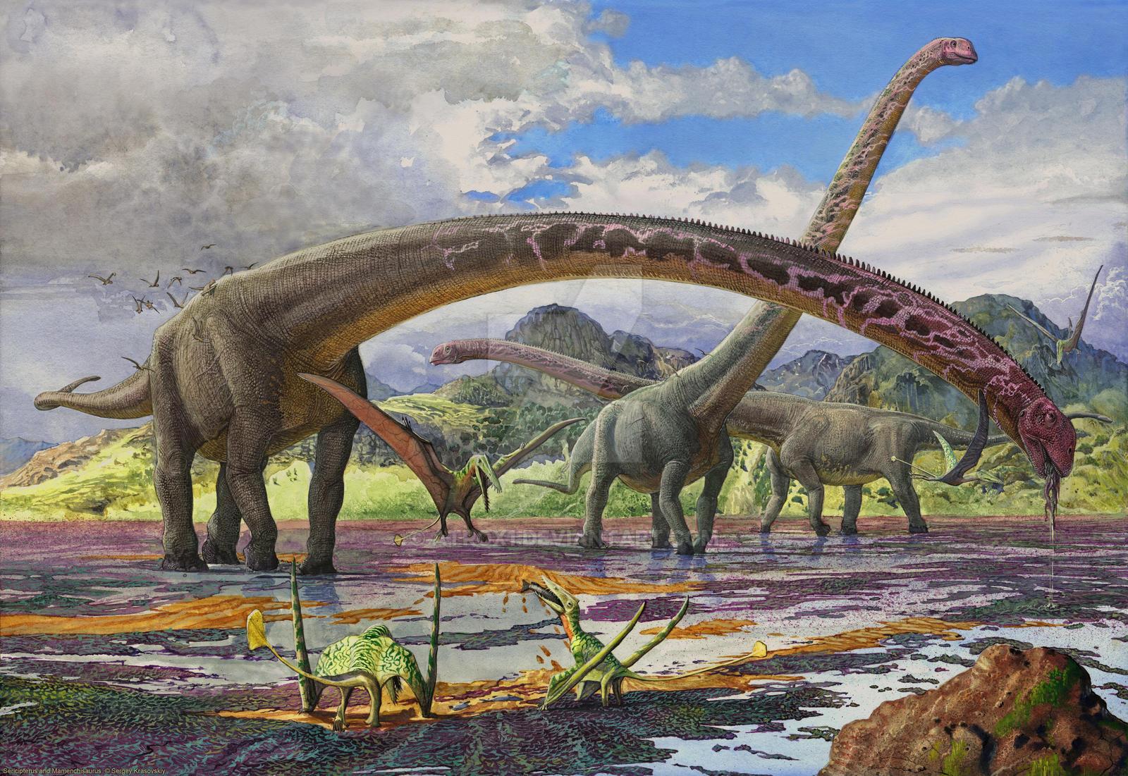 Mamenchisaurus by atrox1