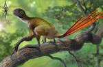 Epidexipteryx hui vs Nephila jurassica
