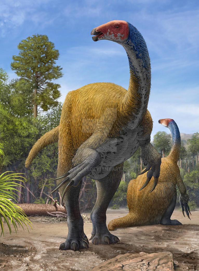 Erlikosaurus Andrewsi by atrox1