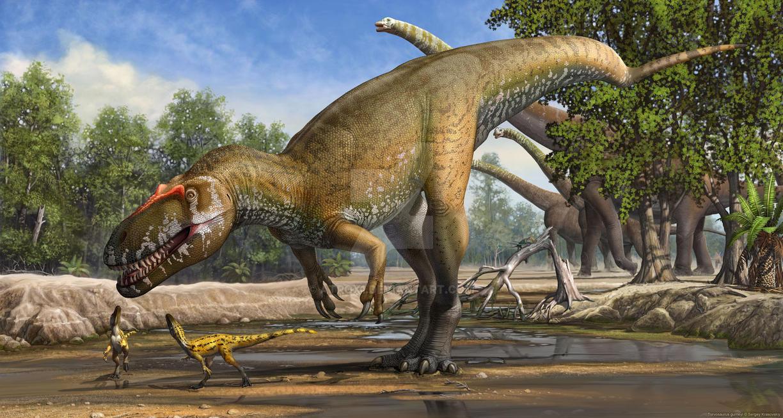 Torvosaurus gurneyi by atrox1