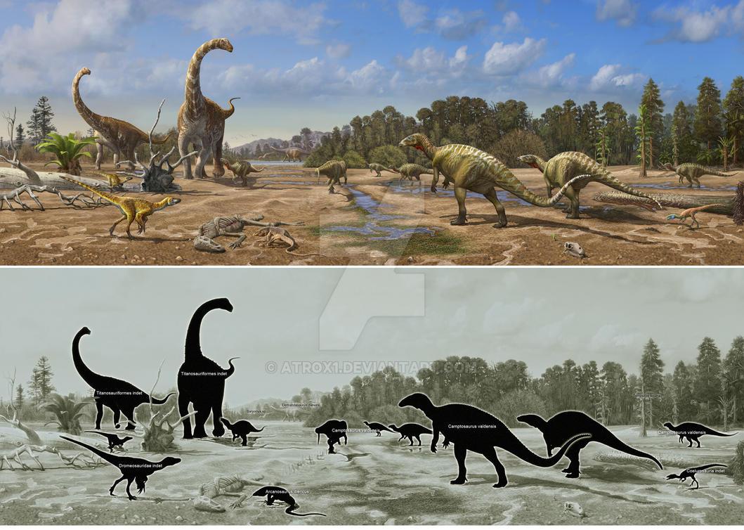 Dinosaurs of Burgos by atrox1