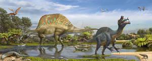 Spinosaurus and Sigilmassasaurus