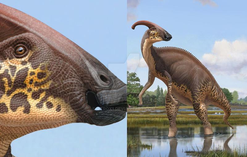 Parasaurulophus by atrox1