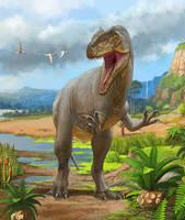 Allosaurus fragilis by atrox1