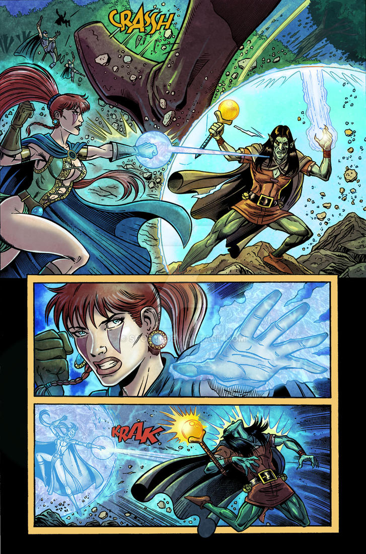 Silvio Spottti Ruby and the warriors of Dion #2 by Spotti