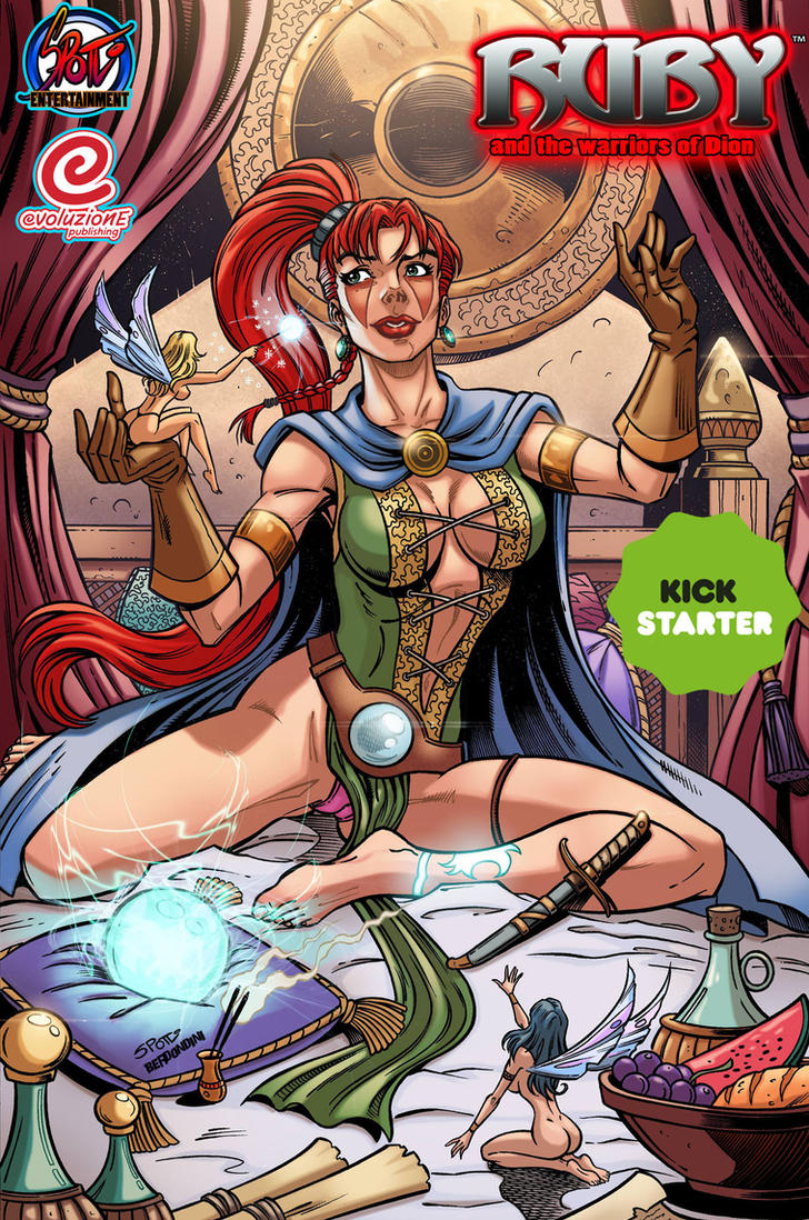 #kickstarter Ruby and the warriors of Dion 2 by Spotti
