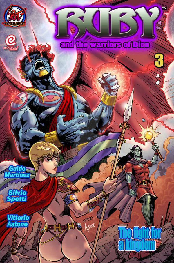 Silvio Spotti Ruby and the warriors of Dion #3 by Spotti