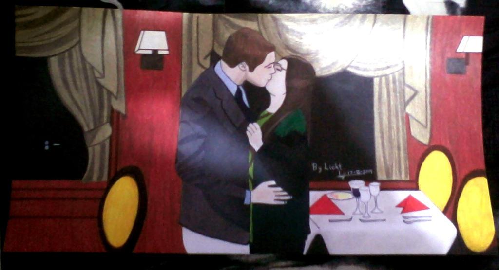 amy sheldon kiss
