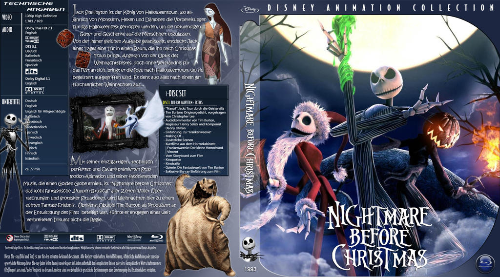 Br Disney Nightmare Before Christmas Tfj by trickfilmjunkie on ...